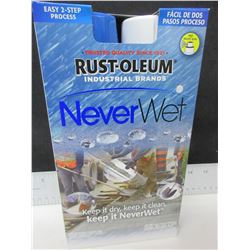 New Rust-Oleum Never Wet / great for ATV fenders/repells mud,water & ice