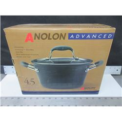 New Anolon Advanced 4.3 liter covered Saucepot