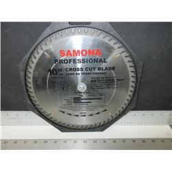 "Samona Professional 10"" cross cut Blade 60 tooth carbide"
