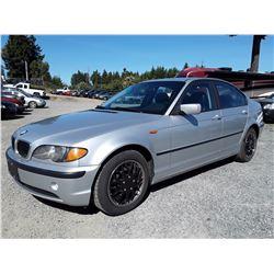 C6 --  2002 BMW 320I , Grey , 206032  KM's