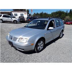 D3 --  2003 VW JETTA TDI , Grey , 275039  KM's