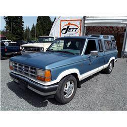 A3--  1990 FORD RANGER , Blue , 204039  KM's