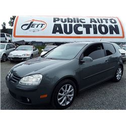 C1 --  2007 VW RABBIT , Green , 152851  KM's