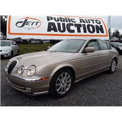 B4 --  2000 JAGUAR S-TYPE  , Brown , 238133  KM's