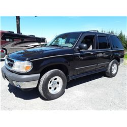 F3 --  2000 FORD EXPLORER , Black , 192371  KM's
