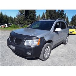 F6 --  2006 PONTIAC TORRENT , Grey , 171481  KM's