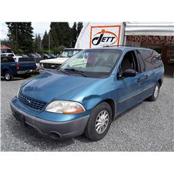 "A4 --  2002 FORD WINDSTAR LX  PB48018 ""No Reserve"""