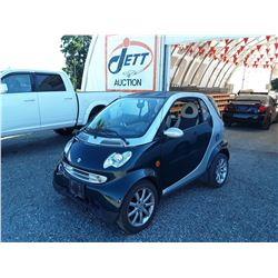 A11 --  2006 SMART FORTWO , Green , 136984  KM's