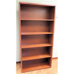 "Tall Wooden Bookcase 36""W x 13""D x 71""H"