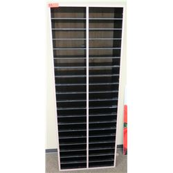 "Tall Multi-Slot Shelving Unit 26""W x 12""D x 68""H"