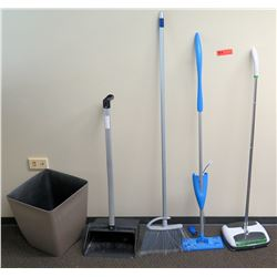 Broom, Dustpans, Sweeper, Waste Receptacle