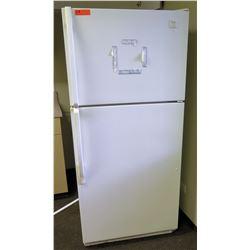 "Whirlpool ET18MMXJT0 White Refrigerator 30""W x 27""D x 65.5""H"