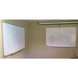 """Qty 2 Large White Boards (Both 72"""" x 48"""")"""