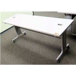 "Utility Table (Desk) w/ Wheels 72"" x 24"" x 29.5""H"