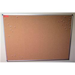 "Framed Quartet Corkboard 48"" x 34"""