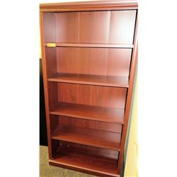 "Wooden Bookcase 36""W x 12""D x 73""H"