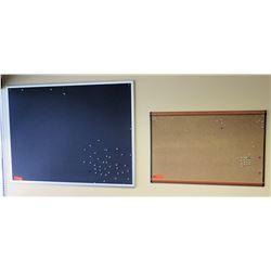 Qty 3 Corkboards (Various Sizes, 36x24, etc)