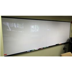 """Large Dry-Erase Board 144"""" x 48"""" (2 pcs joined together)"""