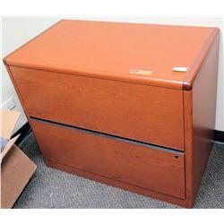 "Wooden File Cabinet 36""L x 20"" x 29.5""H"