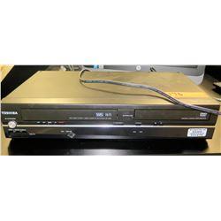 Toshiba DVD VHS Player