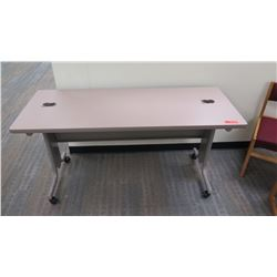 "Utility Table (Desk) w/ Wheels 60"" x 24"" x 29""H"
