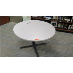 "Round Table 48"" Dia, 29.5"" H"