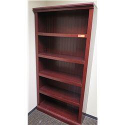 "Wooden Bookcase 35""W x 12""D x 72""H"