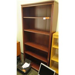 """Qty 2 Wooden Bookcases 36"""" x 13"""" x 71""""H"""