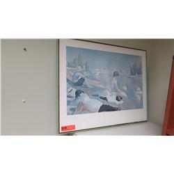 "Framed Art Print (Georges Seurat) 28.5"" x 22.5"""