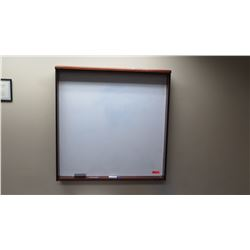 "Framed Dry-Erase Board 48"" x 48"""