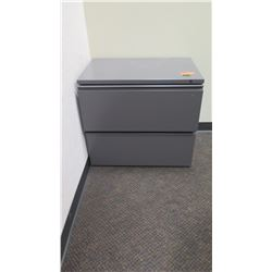 "Lateral File Cabinet, 2-Drawer 29.5""W x 19.5""D x 26""H"