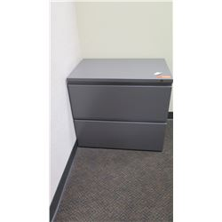 "Lateral File Cabinet, 2-Drawer 29.5""W x 19.5""D x 26.5""H"