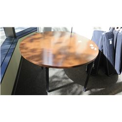 "Round Wooden Table 48"" Dia, 28.5"" H"