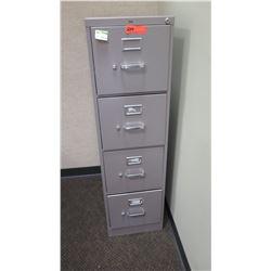 "Vertical File Cabinet (HON), Lt. Gray 15""W x 25D"" x 52""H"