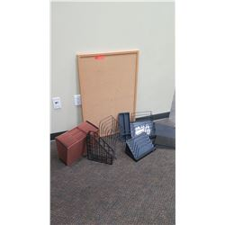 Corkboard, File Organizers, Riser, Accordion File, etc.