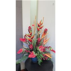 Faux Tropic Floral Arrangement