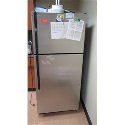 "Stainless Steel GE Model GTK18IBXCRBS Freezer/Refrigerator 27.5""D x 29""W x66.5""H"