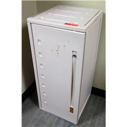 "Plastic Utility Cabinet 16""W x 16""D x 36""H"