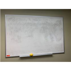 """Large Dry-Erase Board 72.5"""" x 48"""" (lemon shown for scale)"""
