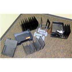 Misc. Office Accessories: Desk Organizers, Brackets, etc.