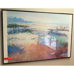 "Framed Art Print by D. Resnick (Open Field) 36"" x 24"""