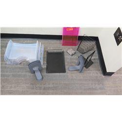 Misc. Office Accessories: Organizer Trays, File Organizers, Brackets, etc.