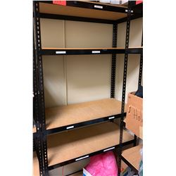 "Shelving Unit w/ Metal Frame 15.5""D, 72""H (Contents Optional)"