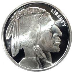5 oz. Buffalo Design Silver Round - .999 Pure