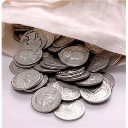 200 pcs. 90% Silver Washington Quarters