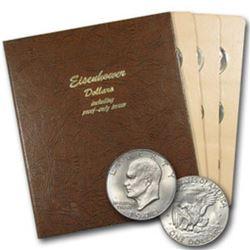 Complete IKE Dollar Set in Dansco Holder