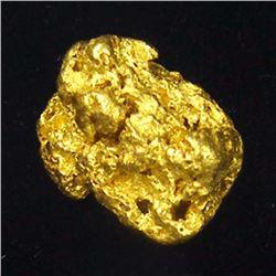 1.33 gram Natural Alluvial Gold Nugget