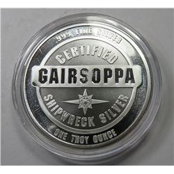 1 oz GAIRSOPPA Shipwreck Silver Round