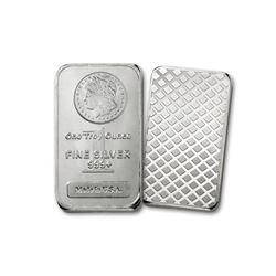 1 oz. Morgan Design Silver Bar . 999 pure