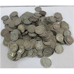 100 pcs NO DATE Buffalo Nickels -